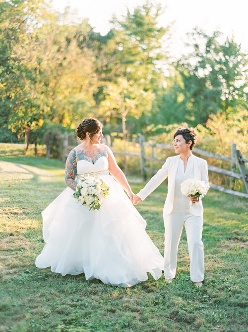 Lesbian Wedding — Real Weddings, Advice, & Inspiration — Catalyst