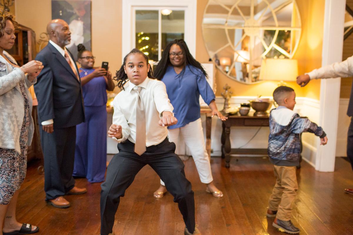 Dance floor dancers breaking it down!