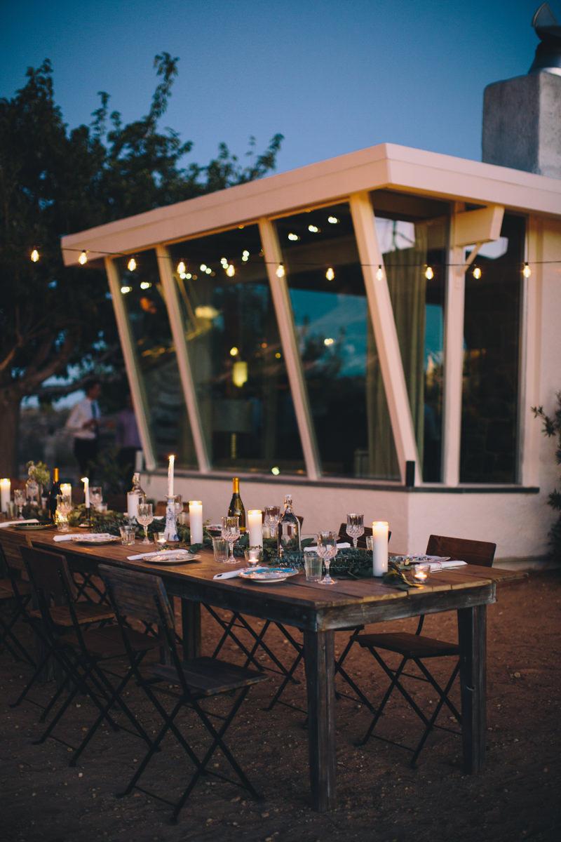 Yucca Valley AirBnB wedding venue