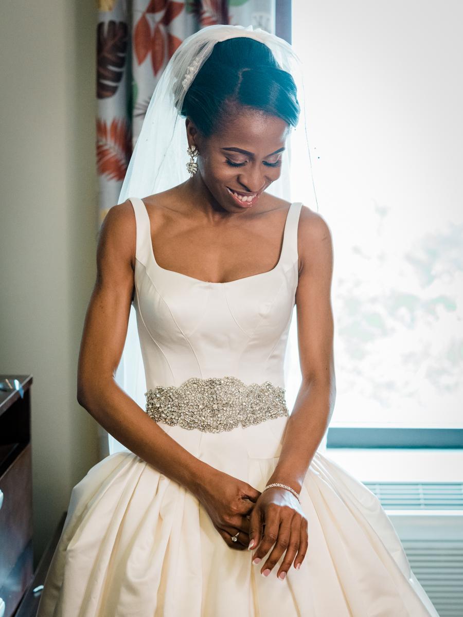 Iconic bride portrait