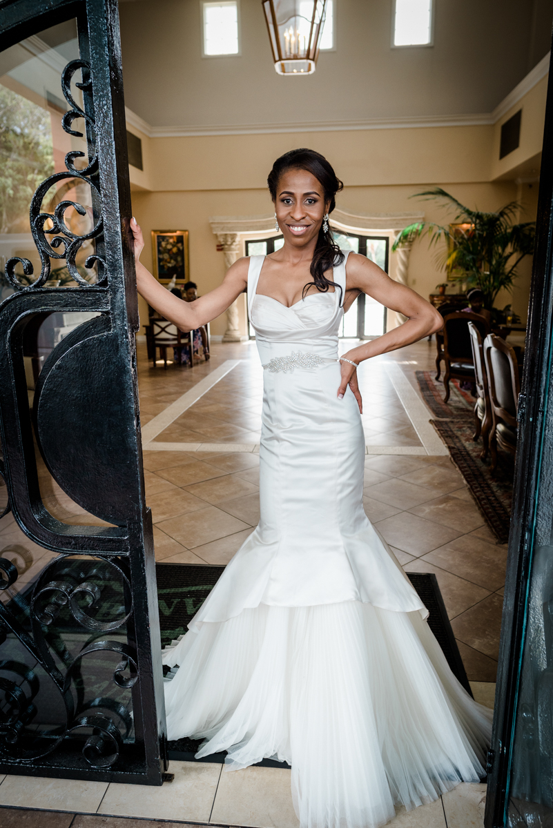 Newly married bride style