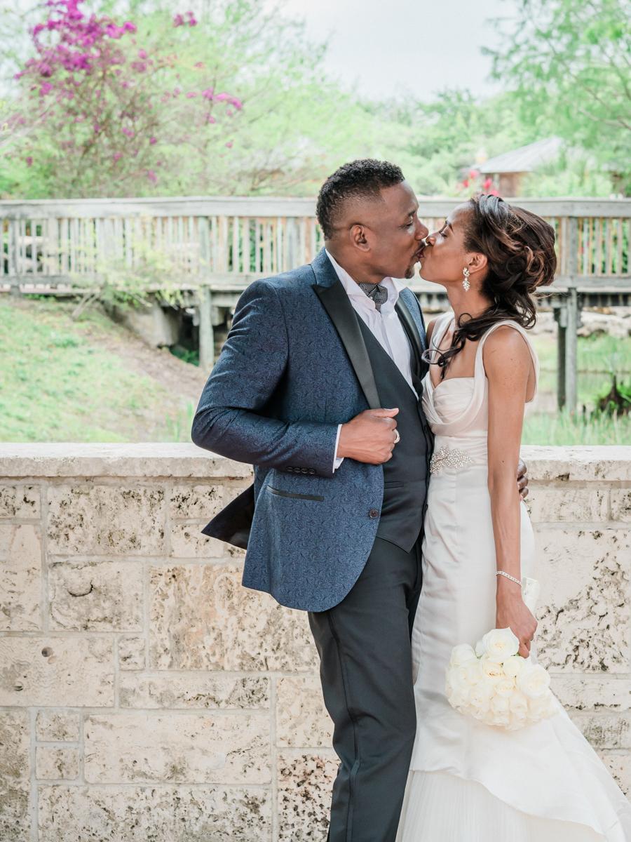 beautiful post-wedding portraits of bride and groom