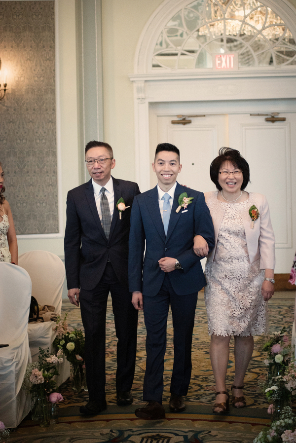 Storybook Wedding with Chinese Tea Ceremony at Hotel MacDonald in Edmonton Alberta Canada by Daphne Chen Photography