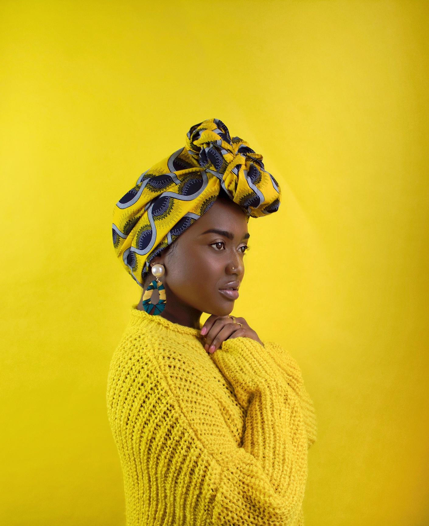 Shopfe-line Headwraps on Black BeauTEA Talk