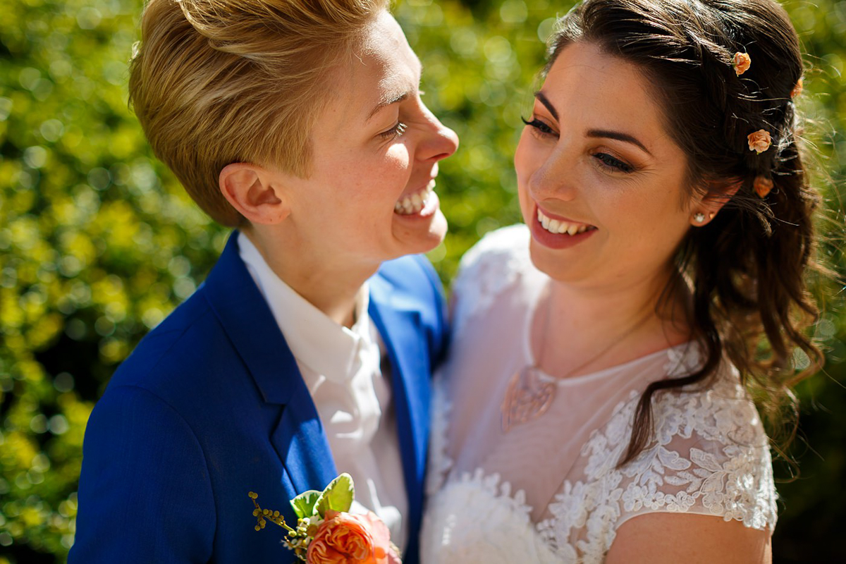 wedding photographer from Manchester same-sex