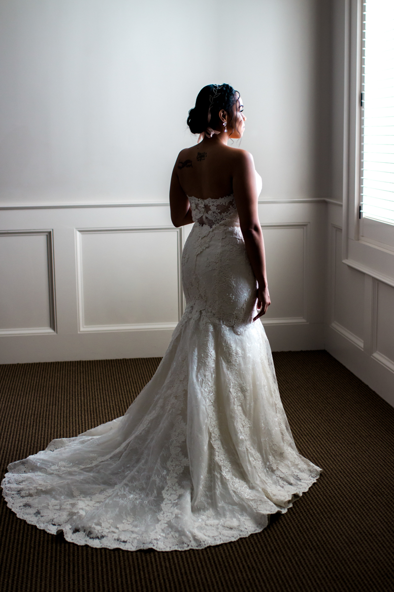 Beautiful, classic bride