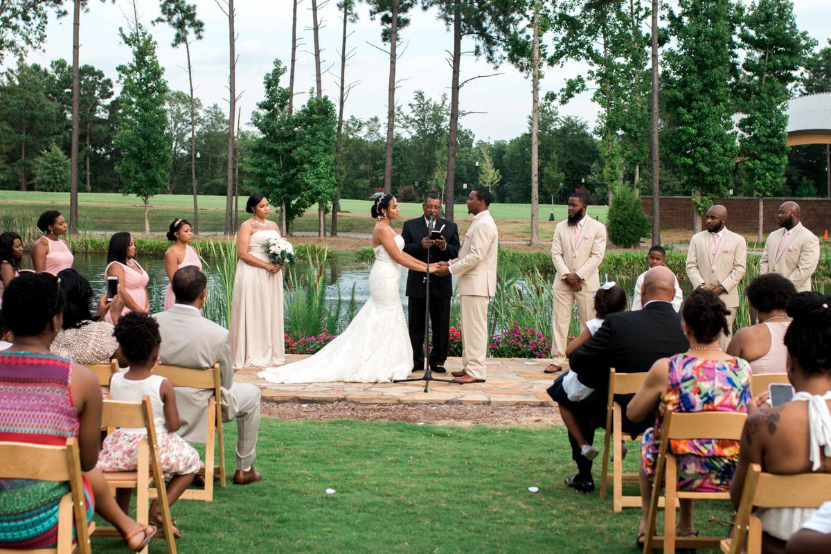 Doko Manor wedding ceremony