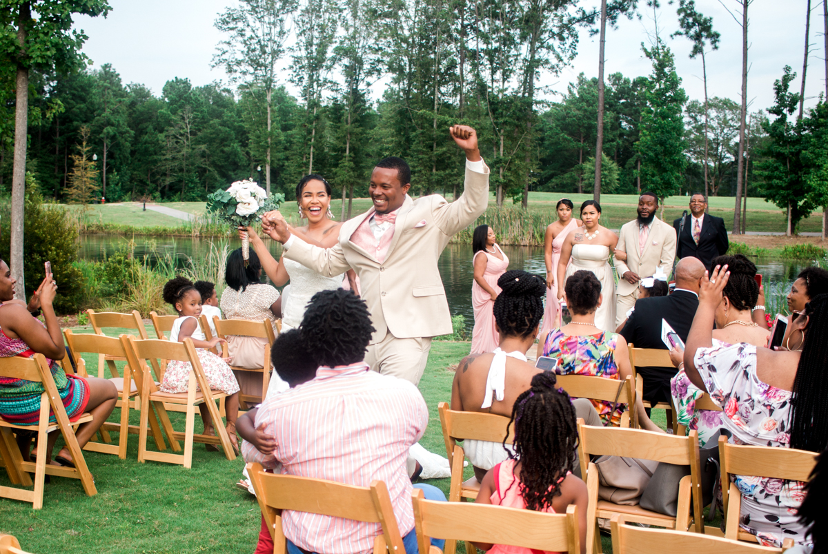 post wedding bliss!