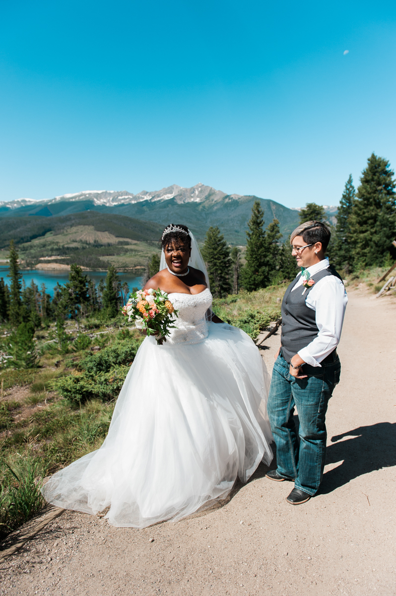 sapphire point brides on mountain road