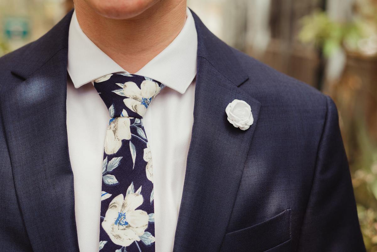 uc berkeley garden wedding lark suit details