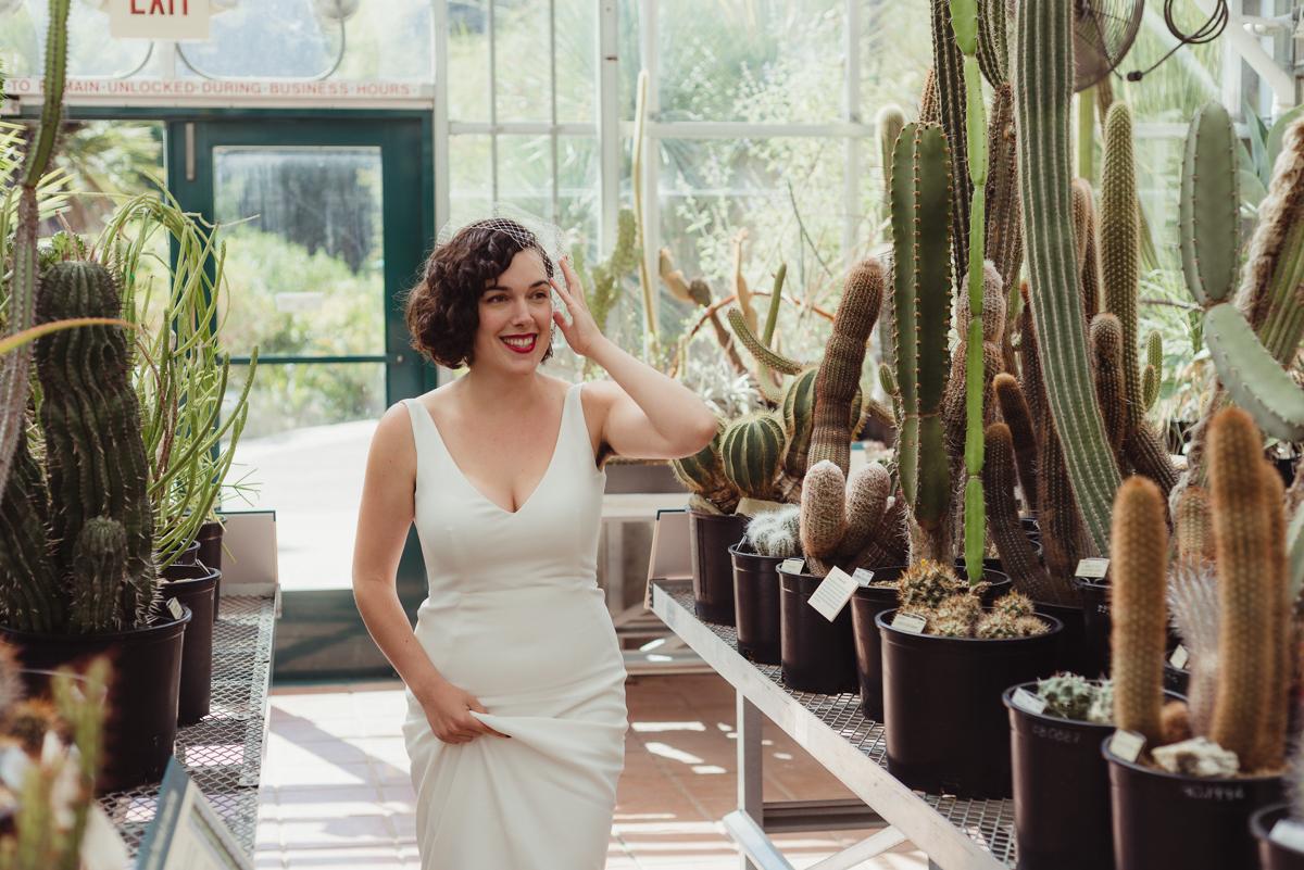 uc berkeley garden wedding laura among cacti
