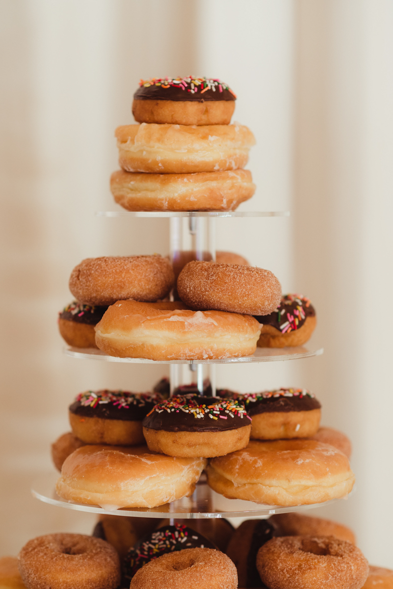 uc berkeley garden wedding donut tower