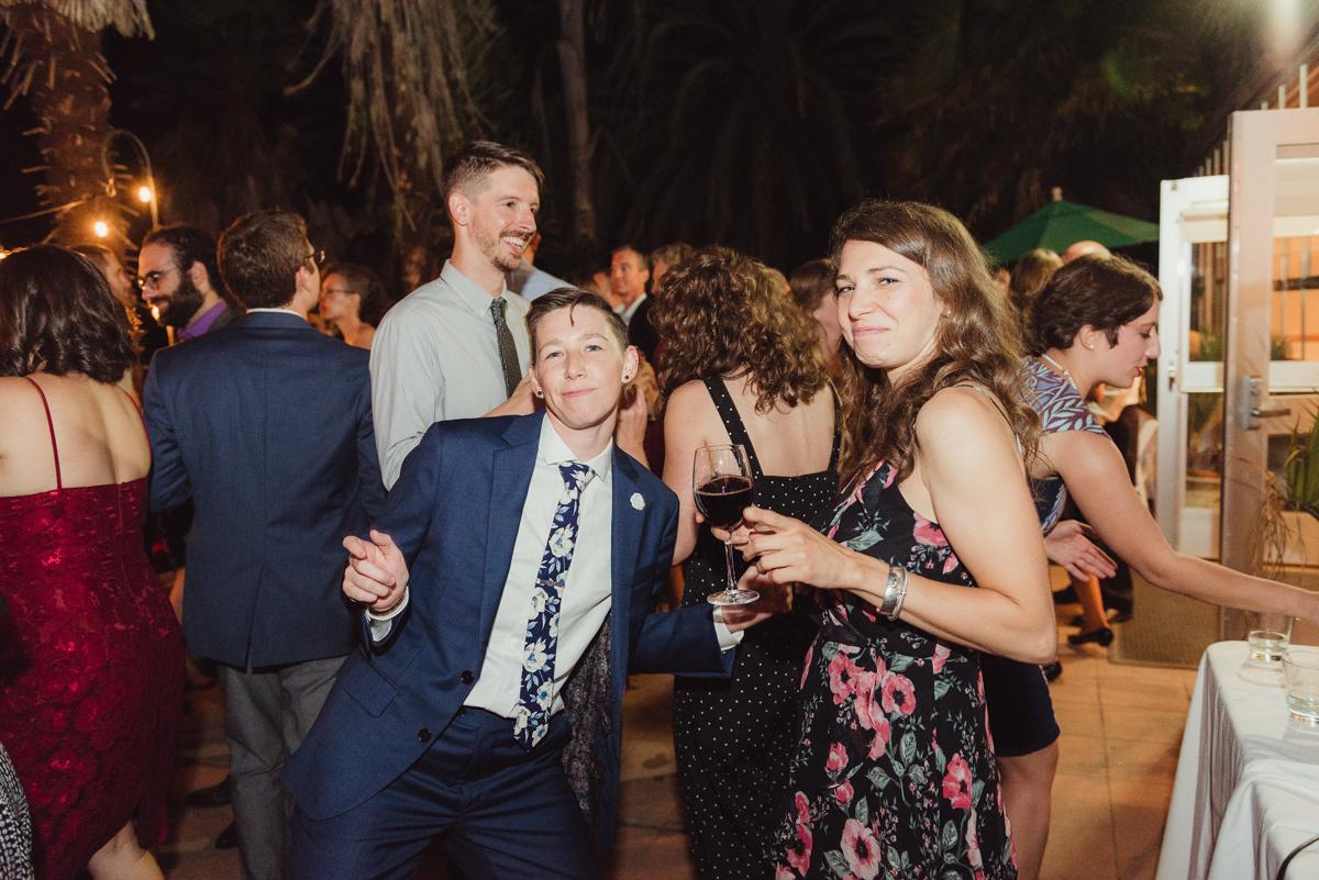 uc berkeley garden wedding lark and guest