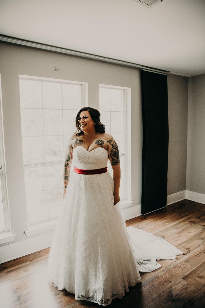 San antonio garden wedding orlando in gown