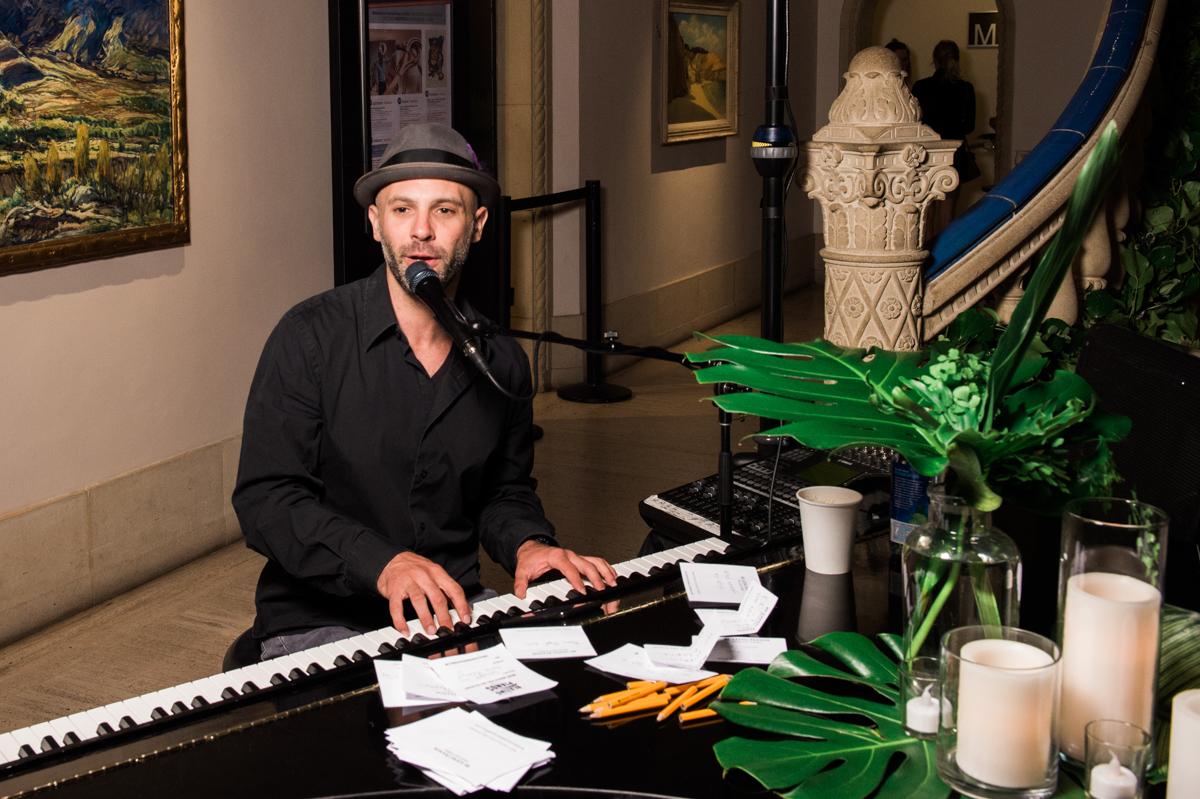 San Diego Museum of Art Wedding pianist