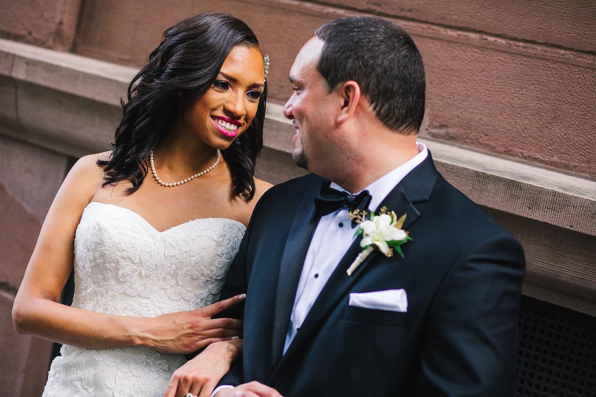 mount vernon ballroom wedding bride and groom