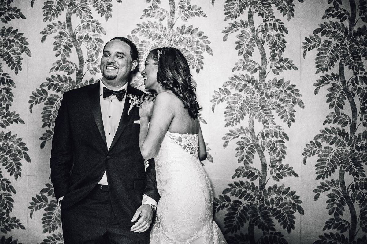 mount vernon ballroom wedding couple smiling