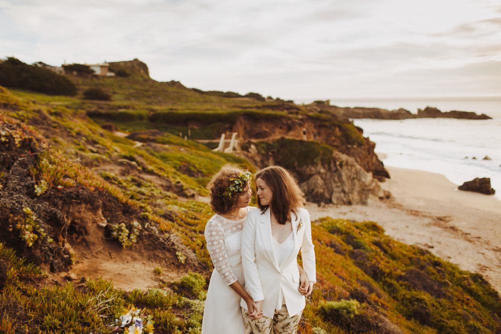 Jess Karolyn Honey and the Moon Photography elopement Carmel California Nessa K Photography