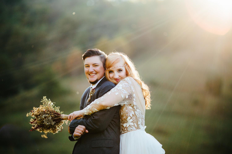 Queer Trans Appalachian Wedding Tennessee Alex Bee Photo