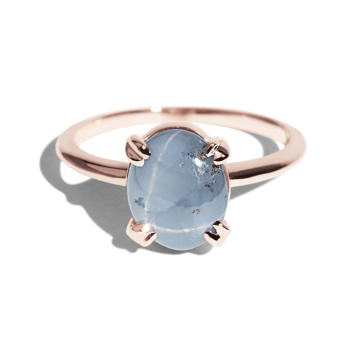 Bario Neal Custom Star Sapphire Ray Ring