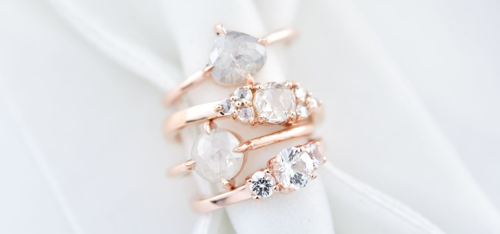 LilyEmme Jewelry Seattle independent jewelry designer wedding bands engagement rings