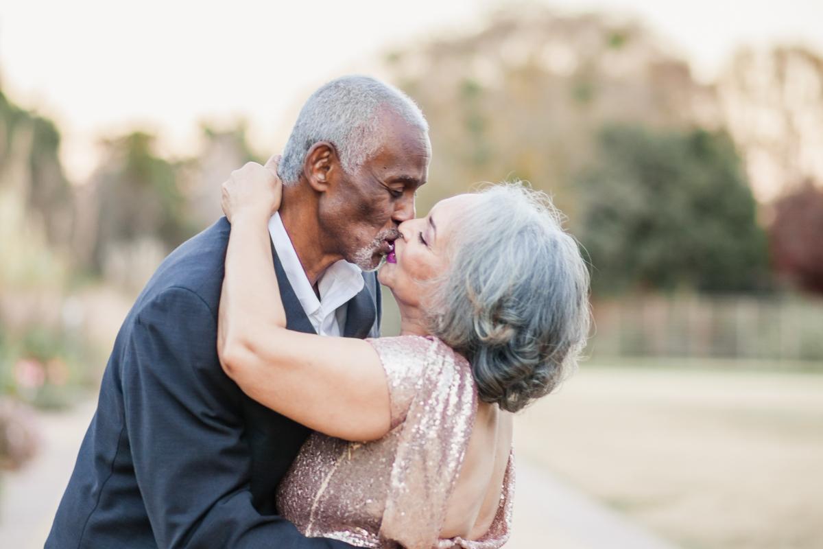 47 years of amazing photo shoot kiss