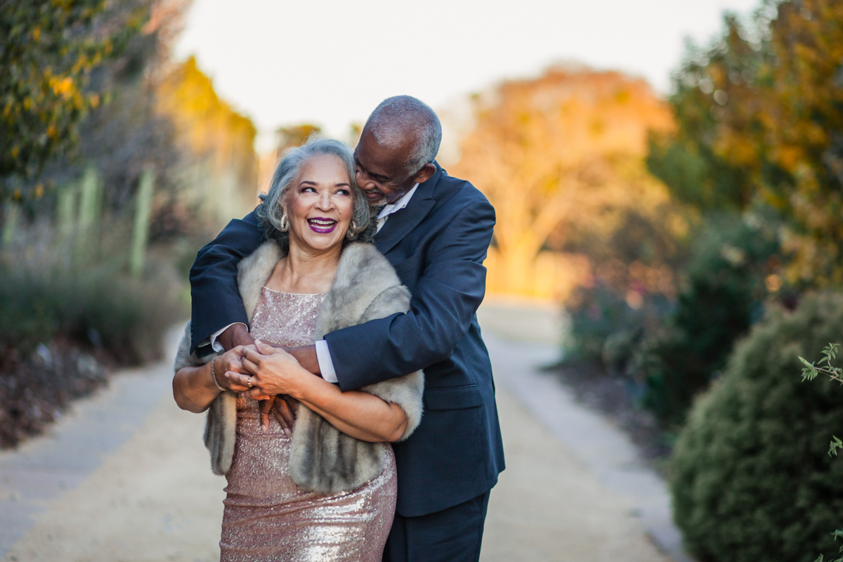 47 years of amazing photo shoot amber robinson embrace on path lined with trees