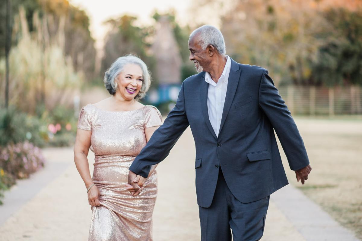 47 years of amazing photo shoot amber robinson walking hand in hand down path
