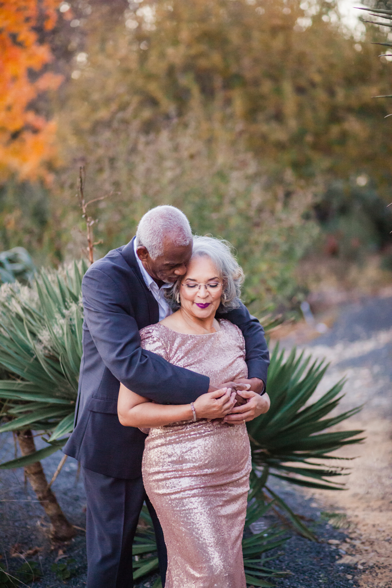 47 years of amazing photo shoot amber robinson wanda and marvin in front of trees