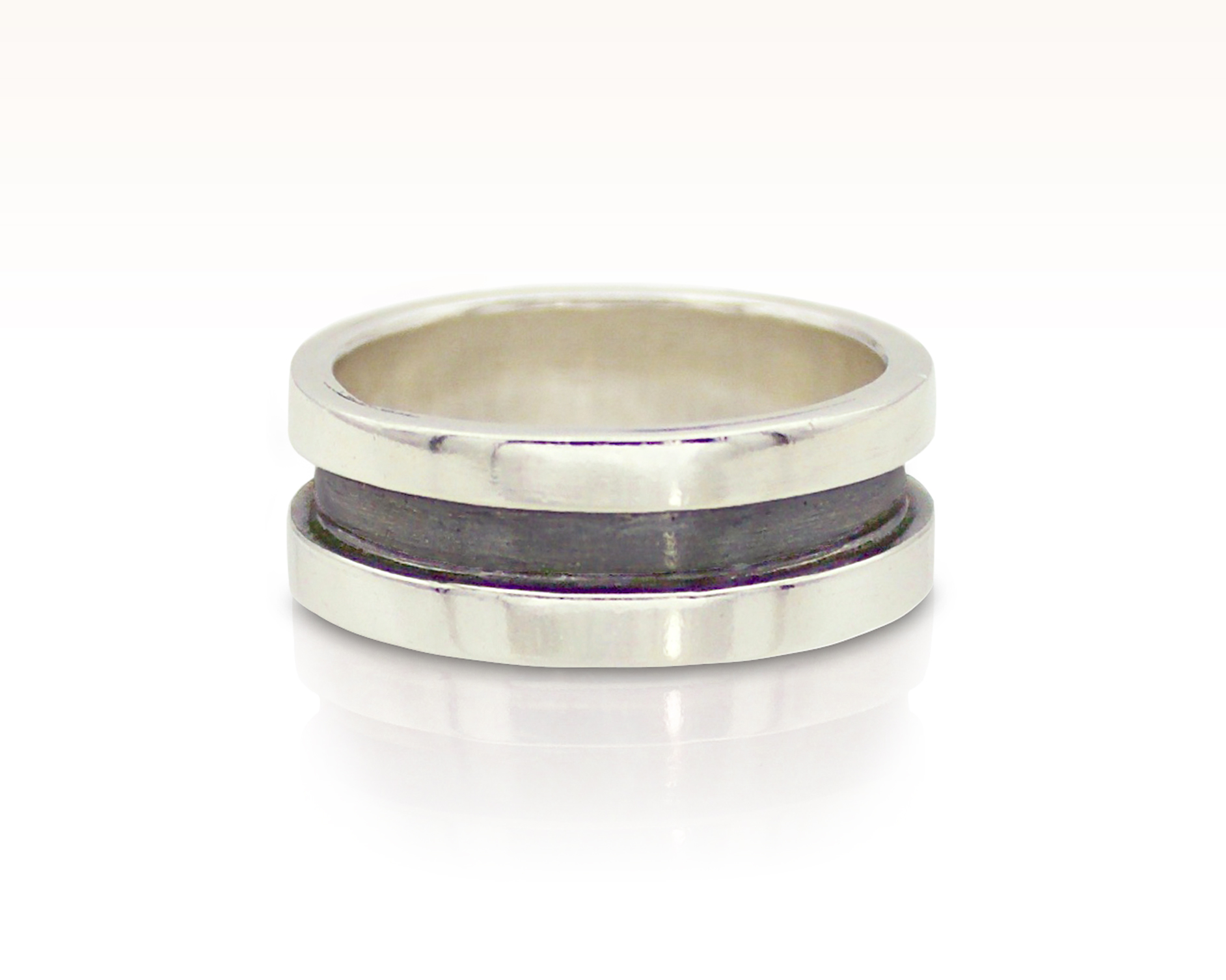 Racetrack Banded Ring