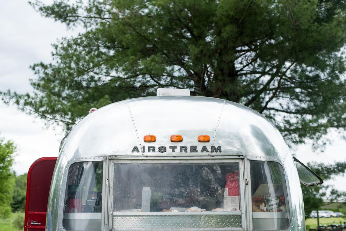 saratoga springs wedding airstream trailer