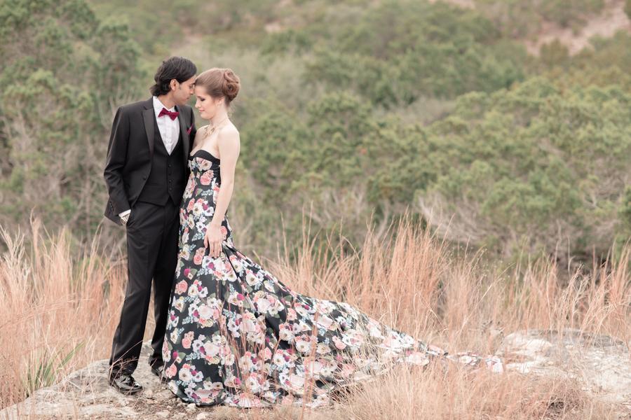 Photo by  Marni Wishart  and Dress by  Renegade Bridal