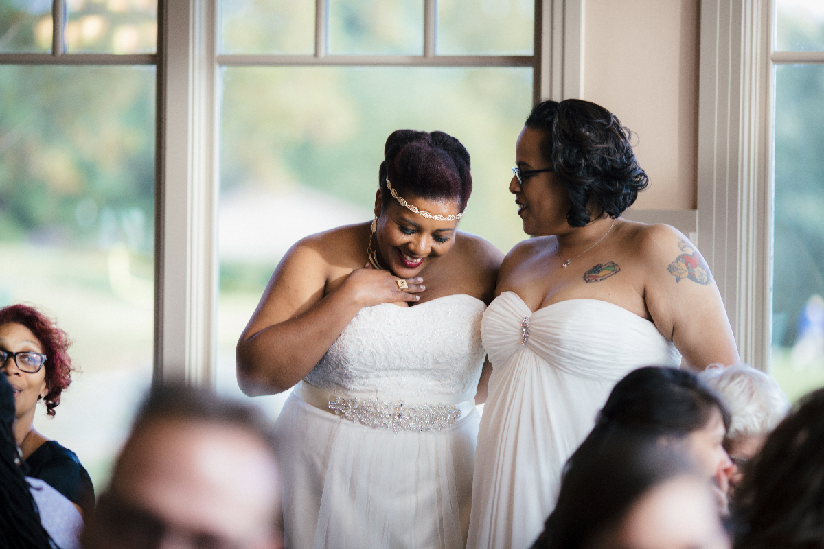 Washington DC Queer Wedding Photo by Imani Photo
