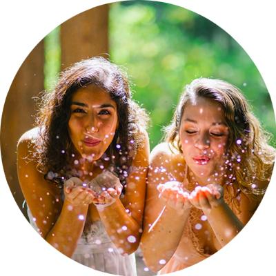 Lilia Karimi and Olivia