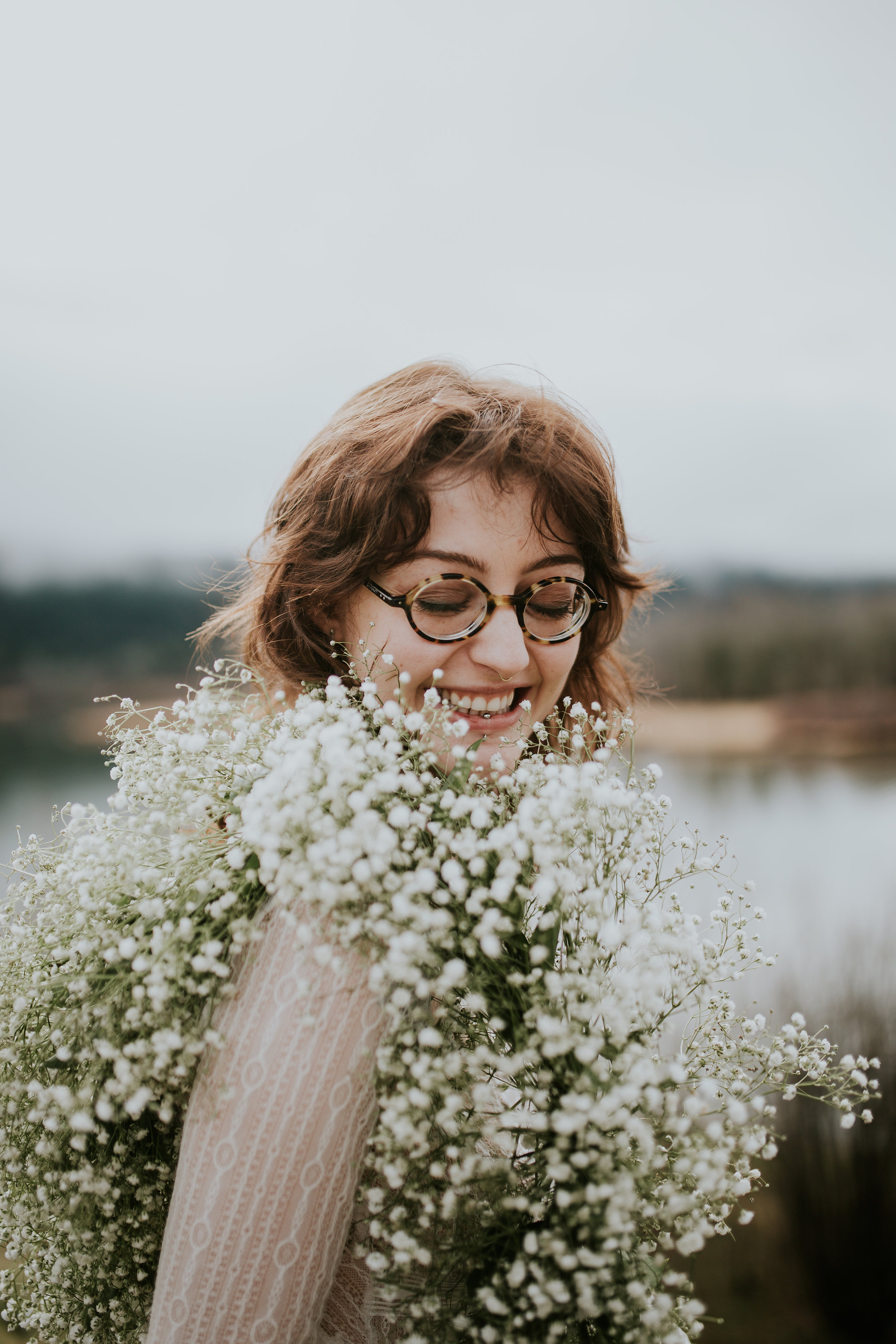 Em Boudoir Shoot Portland Oregon Vancouver Washington Jamie Carle Photography Flowers Laurel Hurst Florist