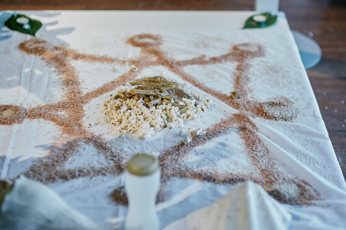 sri lankan, chinese, and harry potter wedding sydney australia poruwa