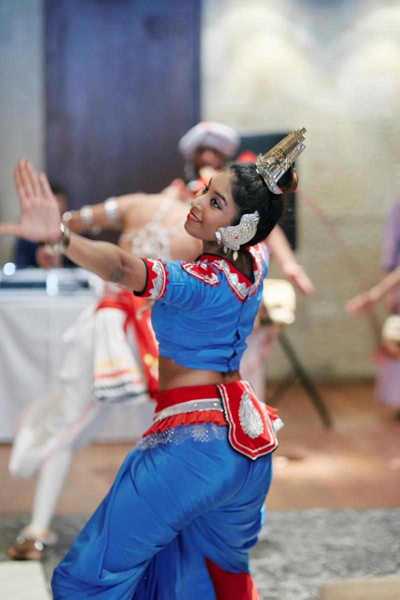sri lankan, chinese, and harry potter wedding sydney australia sri lankan dancer