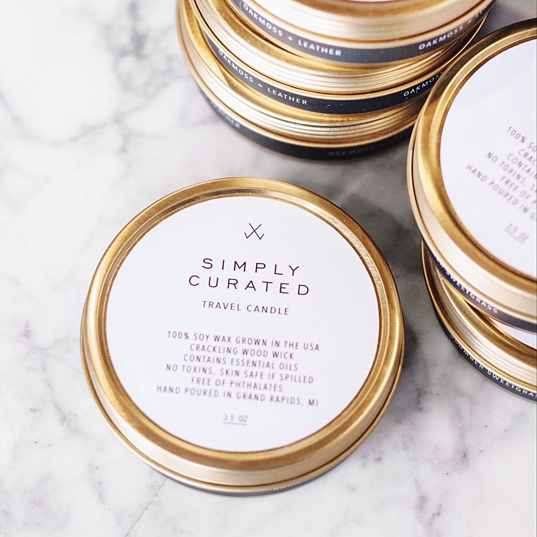 10 stylish gifts to give your wedding party simply curated travel candles