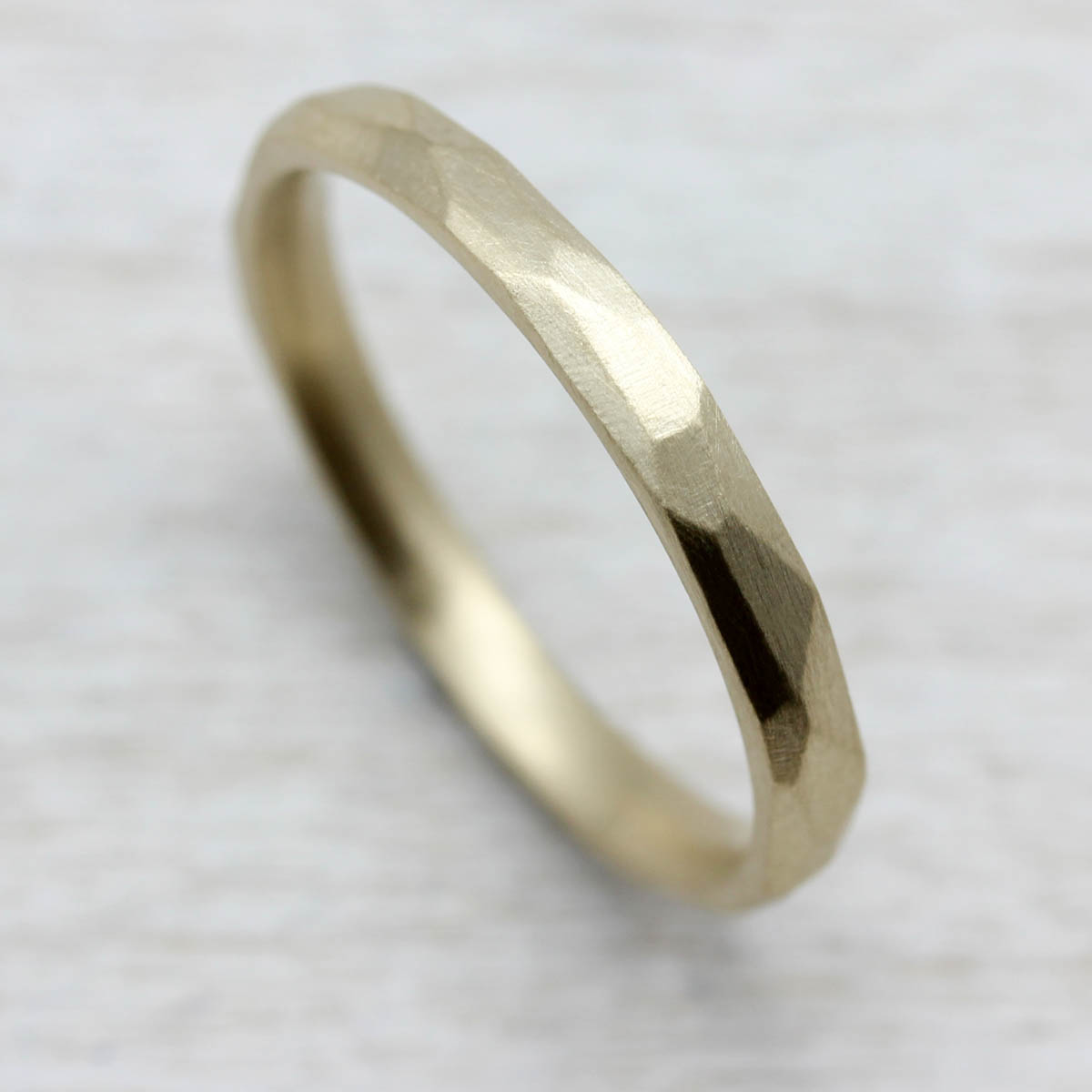 2mm Smooth Faceted Band in 10k Yellow Gold.jpg