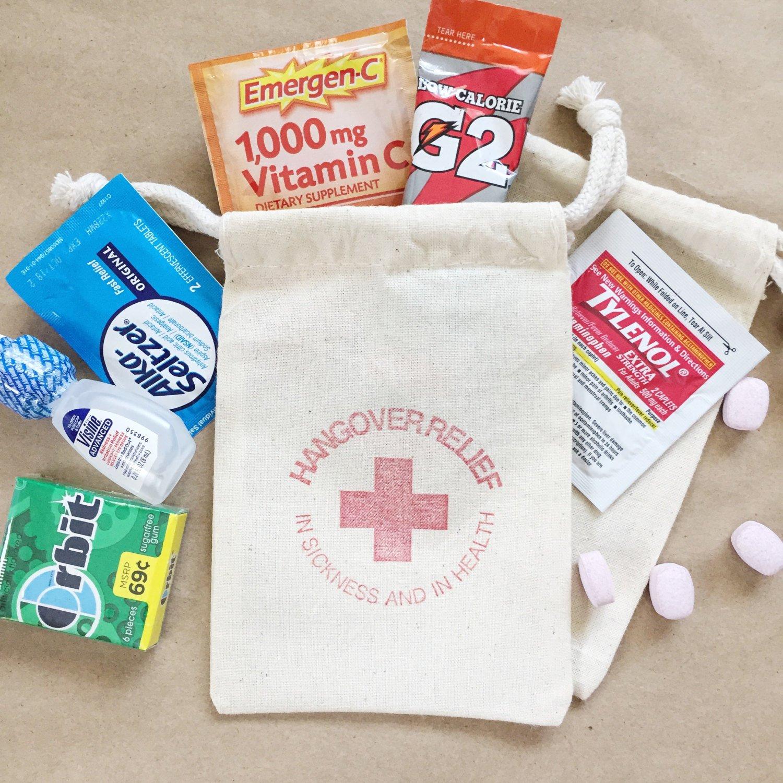 Hangover Relief Bags by Paper Art Scissors