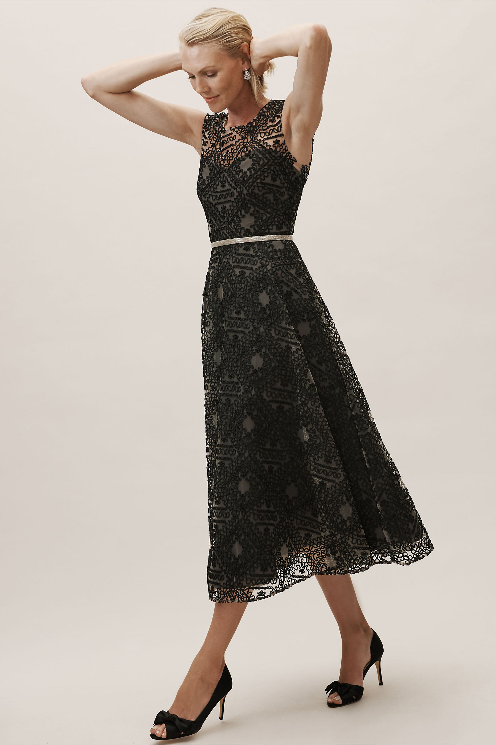 The Presley Dress in Black from BHLDN