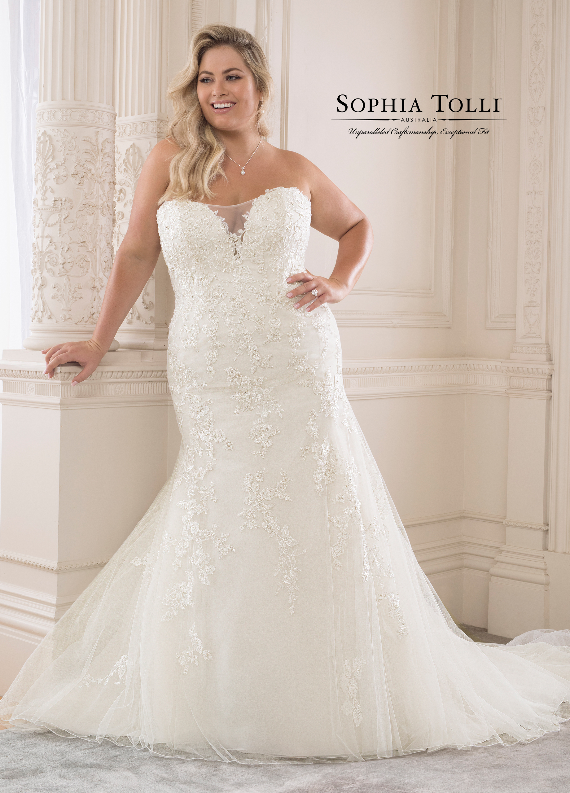 Olivine Wedding Dress by Sophia Tolli