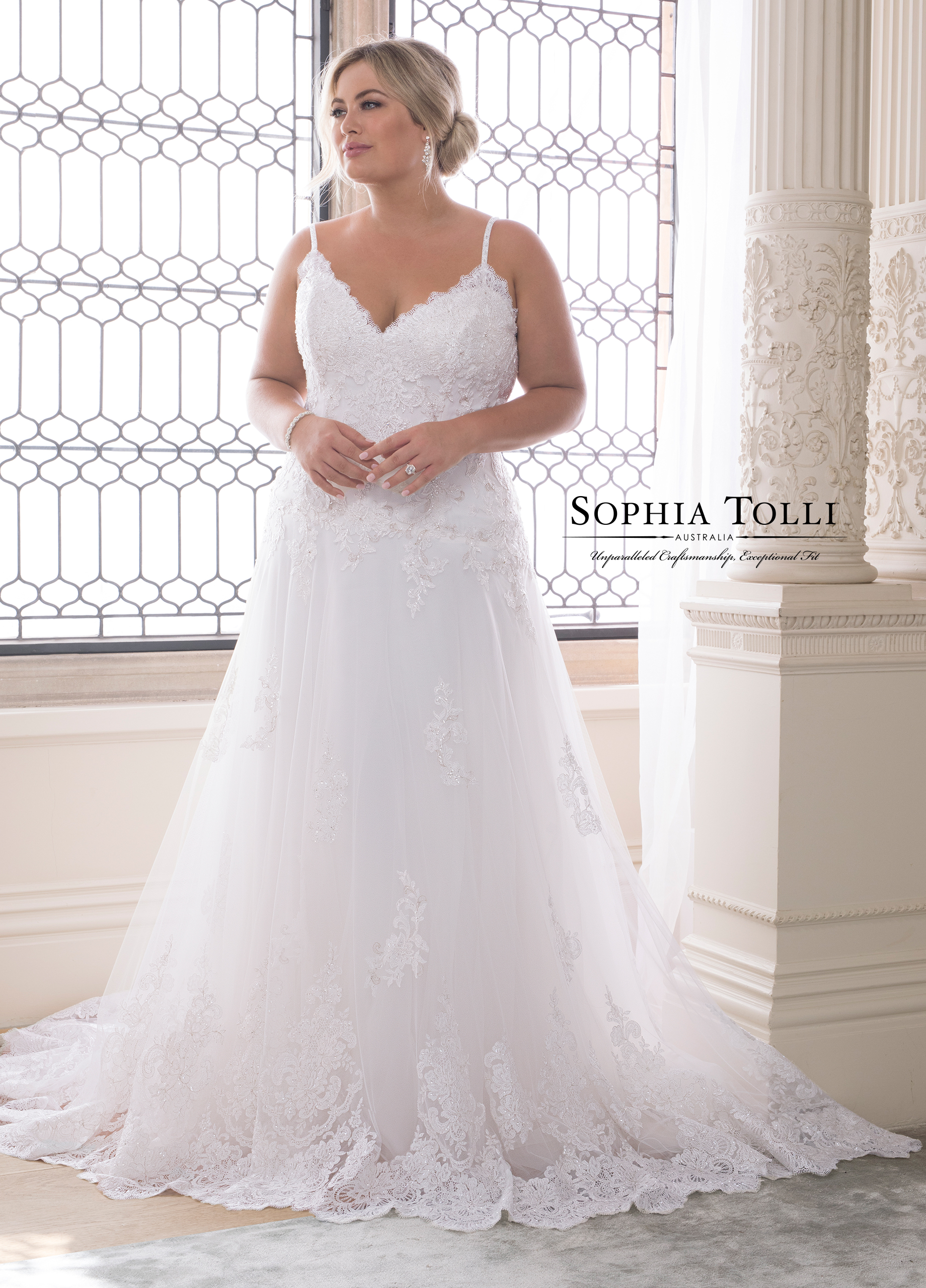 Amethyst Wedding Dress by Sophia Tolli