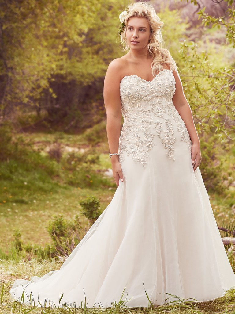 ROMANTIC A-LINE WEDDING DRESS by MAGGIE SOTTERO