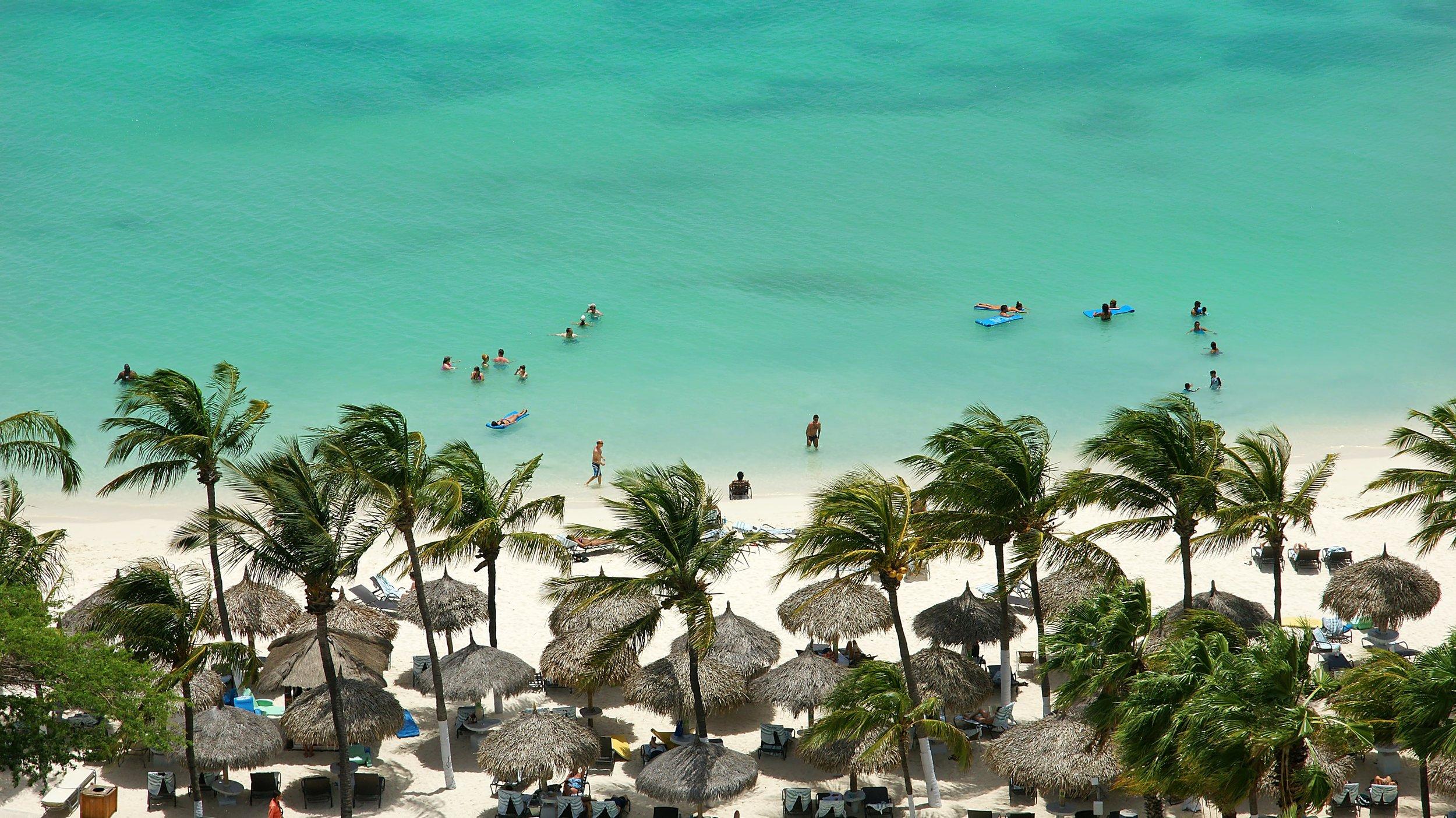 Destination beach wedding Caribbean
