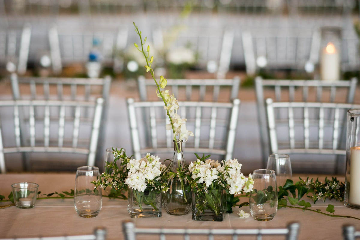 sri lankan wedding in sydney australia reception table's floral centerpieces