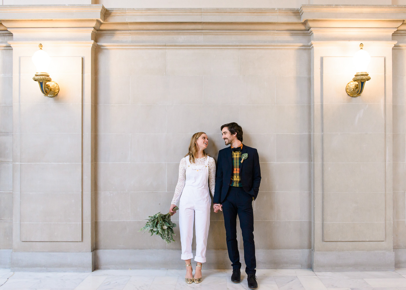 elopement at San Francisco city hall 43rd Ave Photography