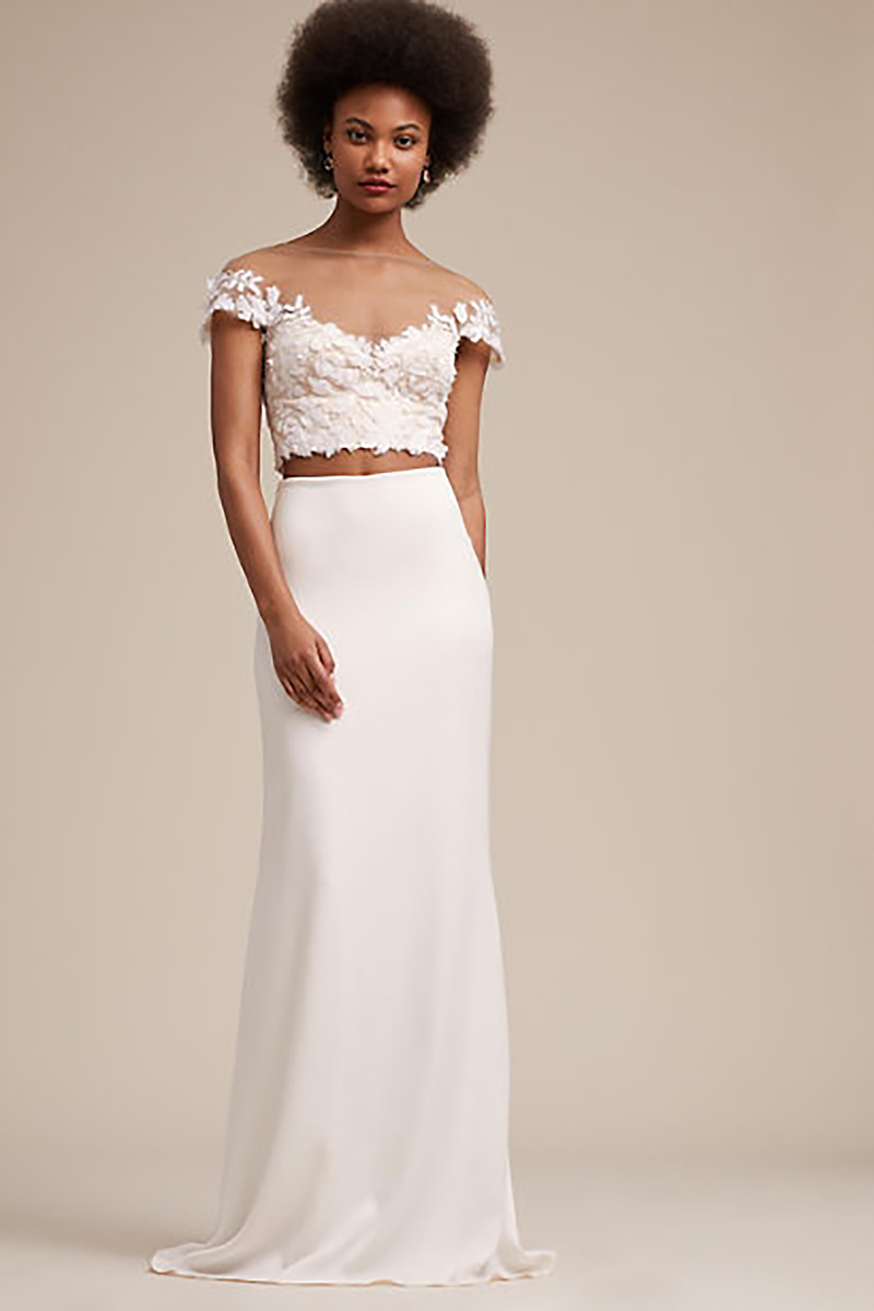 Gidley Skirt  from BHLDN, $400.00