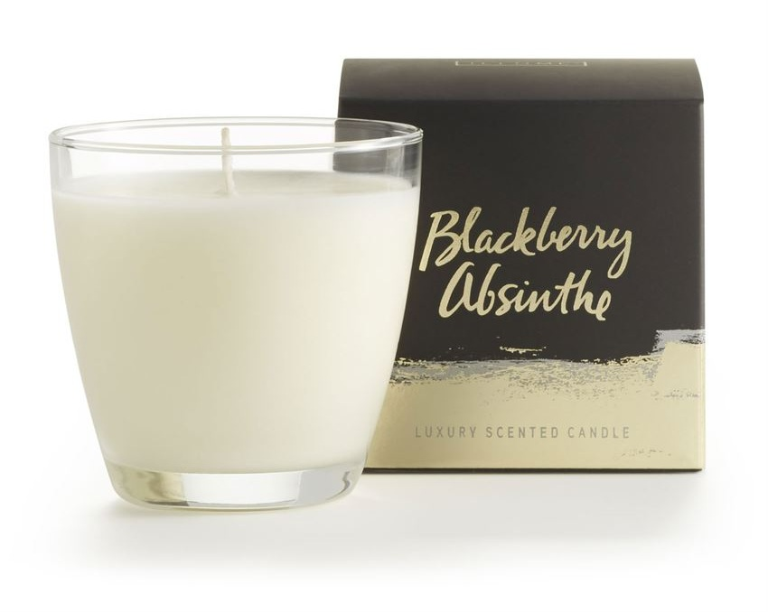 Blackberry Absinthe Demi Boxed Candle