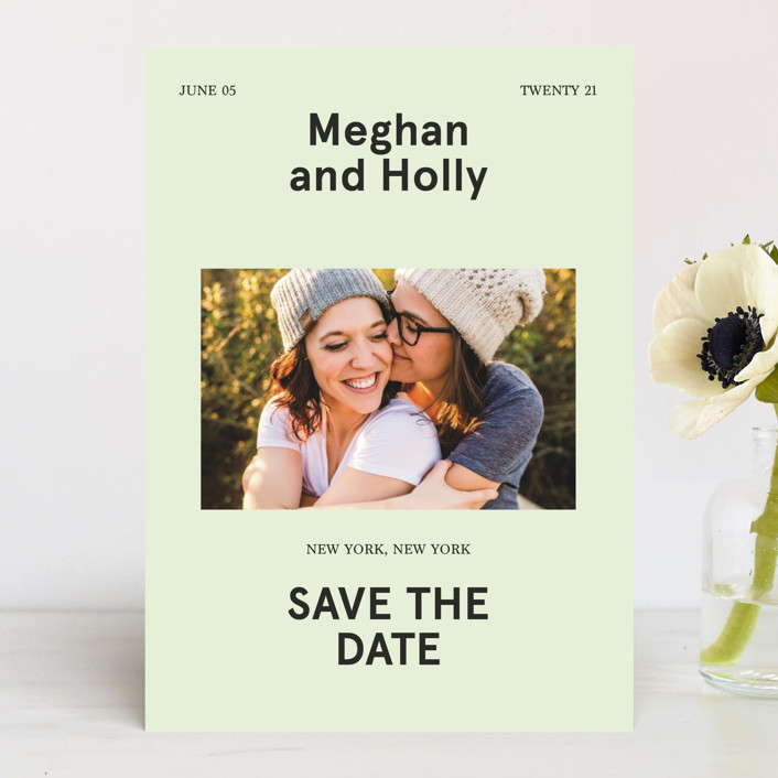 Booklet Save the Date by Jack Knoebber